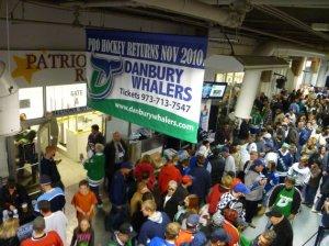 Danbury Whalers Opening Night